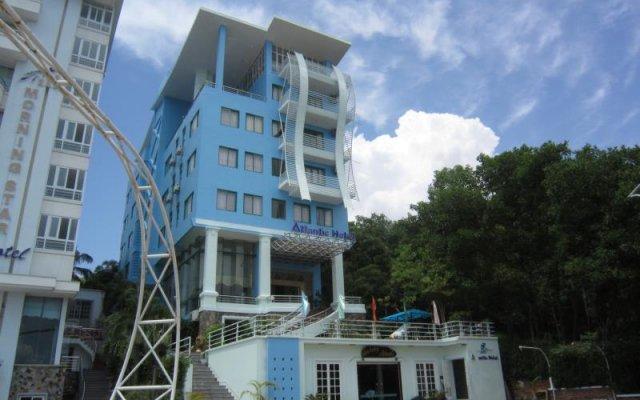 Отель Atlantic Tuan Chau Hotel Вьетнам, Халонг - отзывы, цены и фото номеров - забронировать отель Atlantic Tuan Chau Hotel онлайн вид на фасад