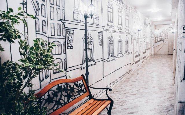 Мини-отель Старая Москва вид на фасад