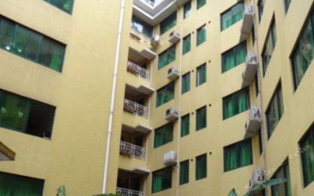 Апартаменты Dunhe Apartment вид на фасад
