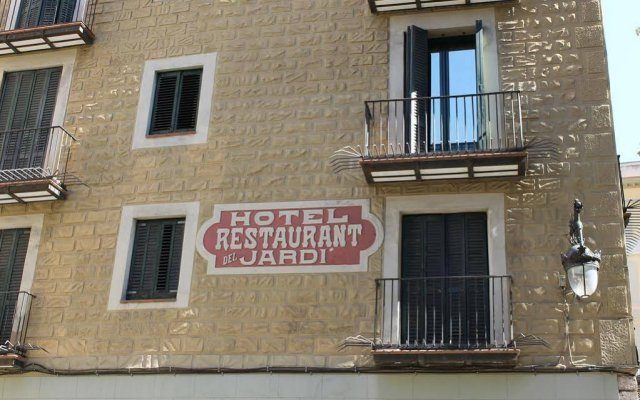 Отель El Jardin Испания, Барселона - отзывы, цены и фото номеров - забронировать отель El Jardin онлайн вид на фасад