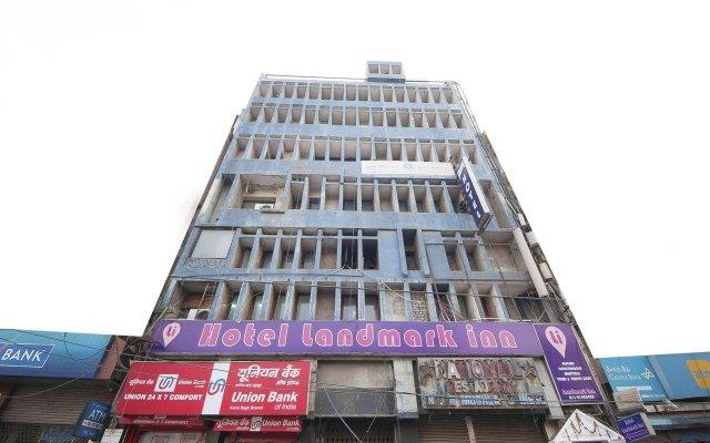 Отель Landmark Inn вид на фасад