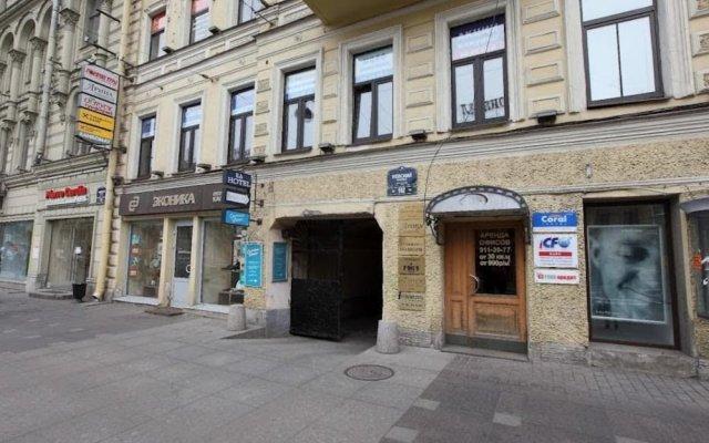 Гостиница РА на Невском 102 вид на фасад