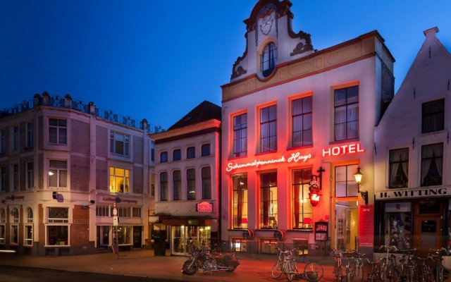 Hotel Schimmelpenninck Huys вид на фасад