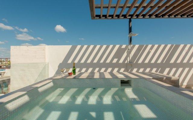 Отель BEACH CLUB Incl - LUXURY3-bdr Penthouse Мексика, Плая-дель-Кармен - отзывы, цены и фото номеров - забронировать отель BEACH CLUB Incl - LUXURY3-bdr Penthouse онлайн
