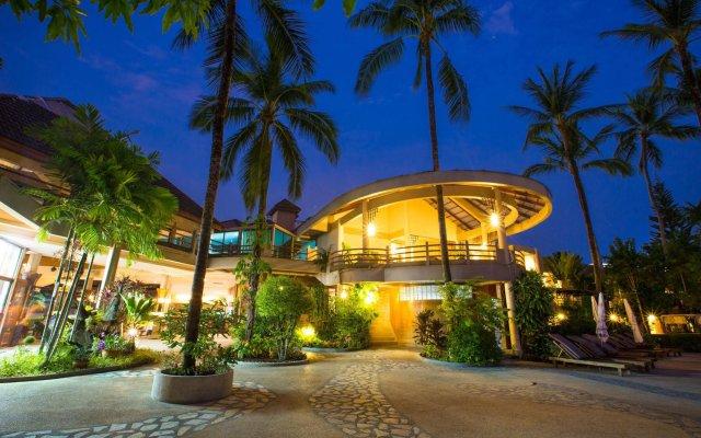 Отель Coconut Village Resort вид на фасад