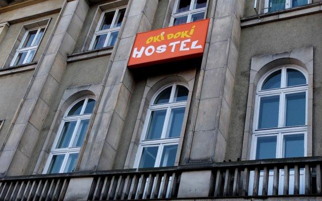 Отель Oki Doki Hostel Польша, Варшава - 1 отзыв об отеле, цены и фото номеров - забронировать отель Oki Doki Hostel онлайн вид на фасад