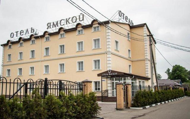 Гостиница Ямской вид на фасад