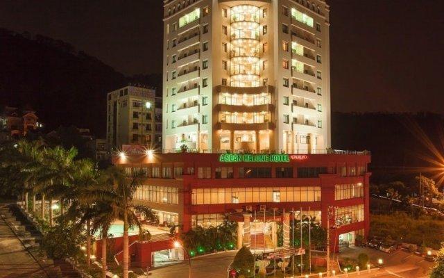 Отель Asean Halong Халонг вид на фасад