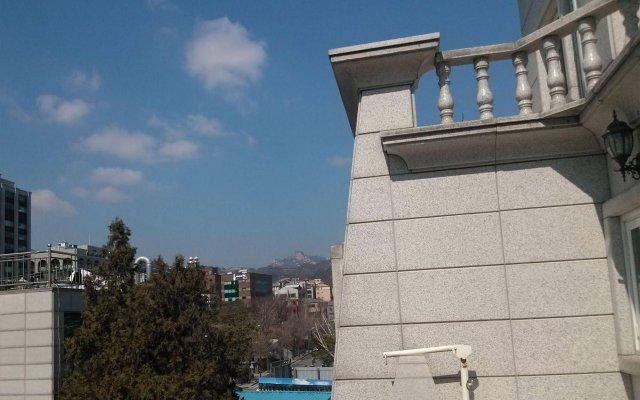 Отель Noble Hotel Южная Корея, Сеул - отзывы, цены и фото номеров - забронировать отель Noble Hotel онлайн вид на фасад