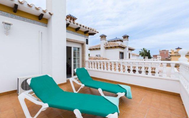 Отель Fidalsa Villa Flamenca Испания, Ориуэла - отзывы, цены и фото номеров - забронировать отель Fidalsa Villa Flamenca онлайн балкон