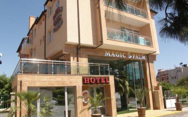 Отель Magic Palm Hotel Болгария, Равда - отзывы, цены и фото номеров - забронировать отель Magic Palm Hotel онлайн вид на фасад