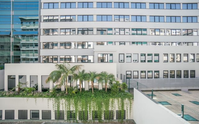 Апартаменты Liberdade Luxury Apartment вид на фасад