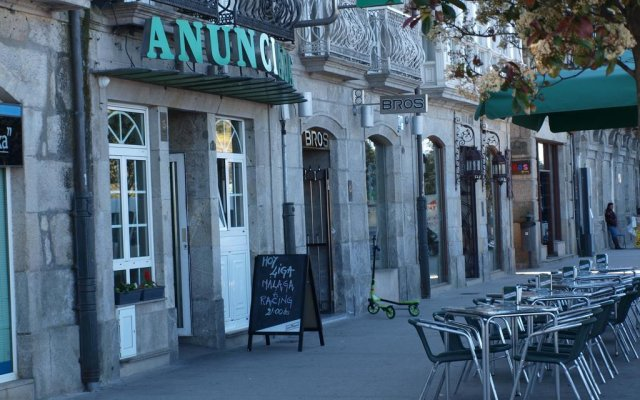 Отель Anunciada Испания, Байона - отзывы, цены и фото номеров - забронировать отель Anunciada онлайн вид на фасад