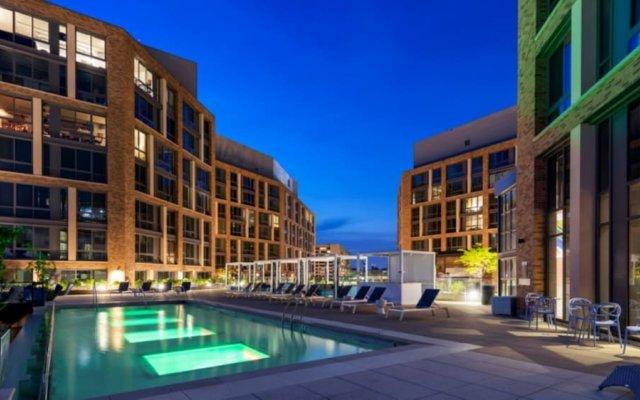 Отель Global Luxury Suites at The Wharf США, Вашингтон - отзывы, цены и фото номеров - забронировать отель Global Luxury Suites at The Wharf онлайн вид на фасад