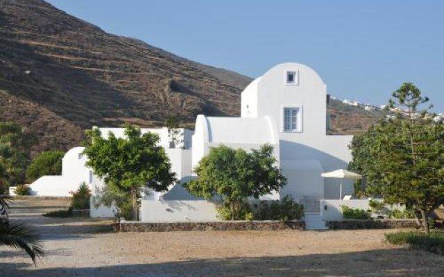 Pelagos Hotel - Oia вид на фасад
