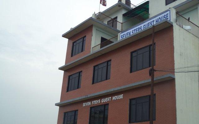 Отель Seven Steps Guest House Непал, Лумбини - отзывы, цены и фото номеров - забронировать отель Seven Steps Guest House онлайн вид на фасад
