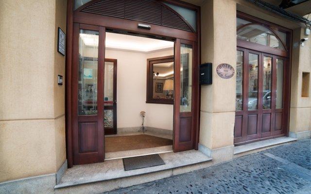 Отель La Giara Чефалу вид на фасад