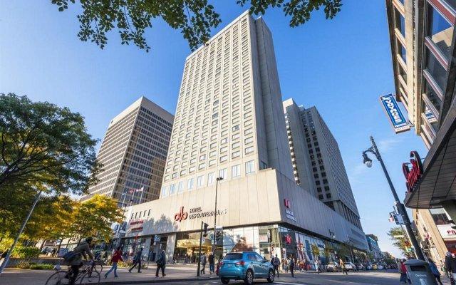 Отель Place Dupuis Montréal Downtown - An Ascend Hotel Collection Канада, Монреаль - отзывы, цены и фото номеров - забронировать отель Place Dupuis Montréal Downtown - An Ascend Hotel Collection онлайн вид на фасад