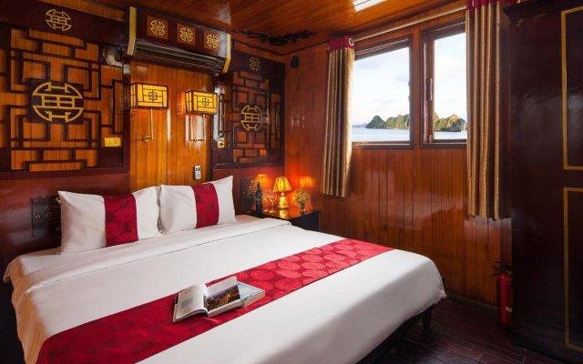 Отель Halong Dugong Sail комната для гостей