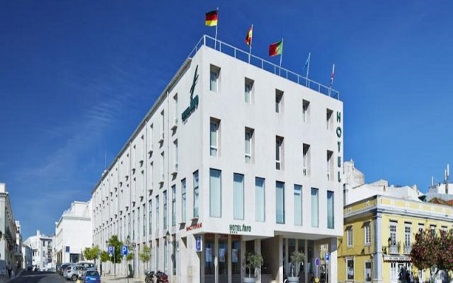 Hotel Faro & Beach Club вид на фасад