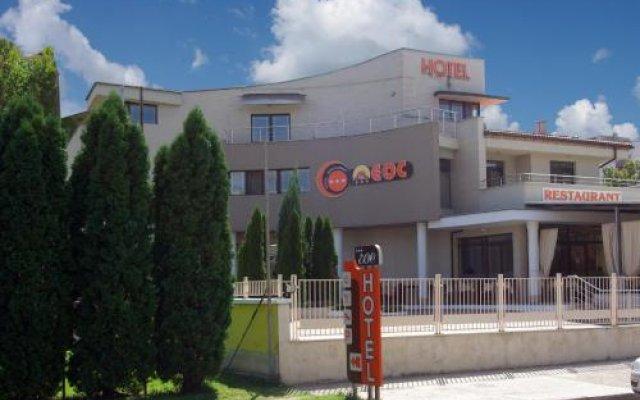 Отель Eos Hotel Болгария, Видин - отзывы, цены и фото номеров - забронировать отель Eos Hotel онлайн вид на фасад