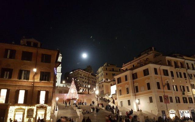 Отель Relais Bocca di Leone вид на фасад