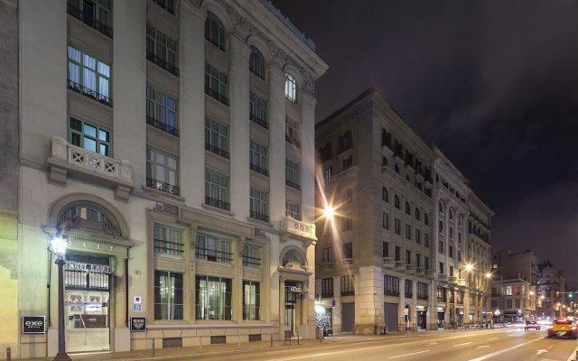 Отель Exe Laietana Palace вид на фасад