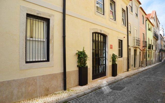Отель My Suite Lisbon вид на фасад