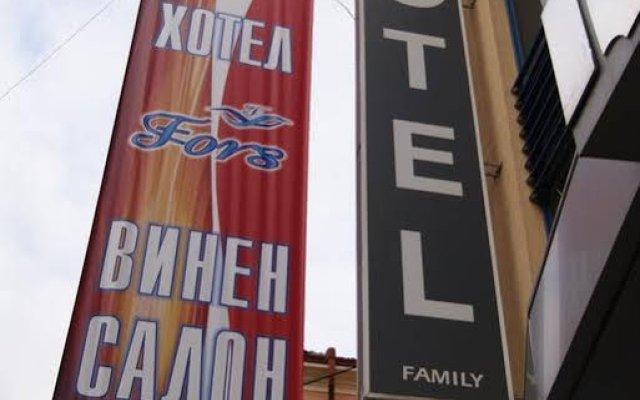 Hotel Fors вид на фасад