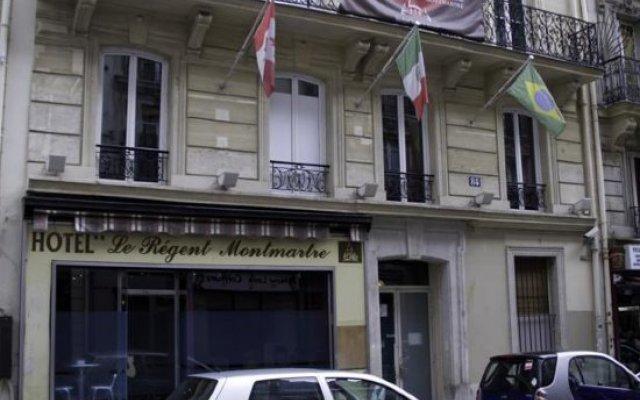 Отель Le Régent Montmartre by Hiphophostels вид на фасад
