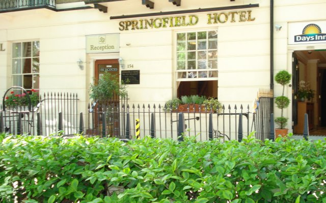 Springfield Hotel вид на фасад
