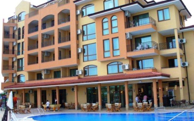 Отель Golden Beach Aparthotel Болгария, Солнечный берег - отзывы, цены и фото номеров - забронировать отель Golden Beach Aparthotel онлайн вид на фасад