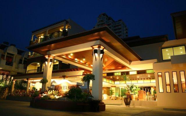 Отель Karon Sea Sands Resort & Spa Таиланд, Пхукет - 3 отзыва об отеле, цены и фото номеров - забронировать отель Karon Sea Sands Resort & Spa онлайн вид на фасад