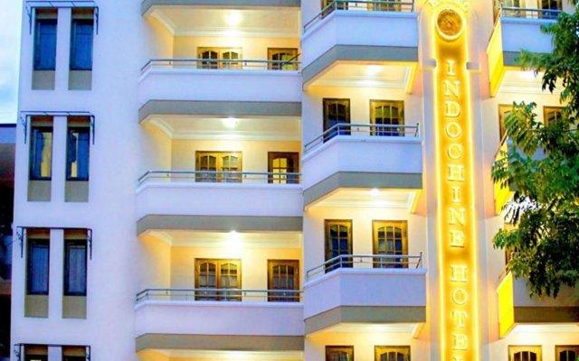 Indochine Hotel Nha Trang Нячанг вид на фасад