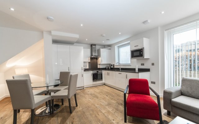 Апартаменты O2 Arena Apartments комната для гостей
