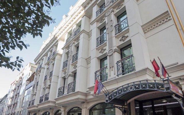 Отель The Meretto Old City İstanbul вид на фасад