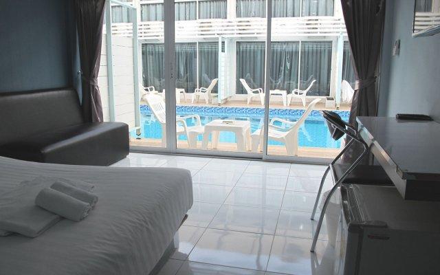 Отель Pool Villa @ Donmueang Бангкок комната для гостей
