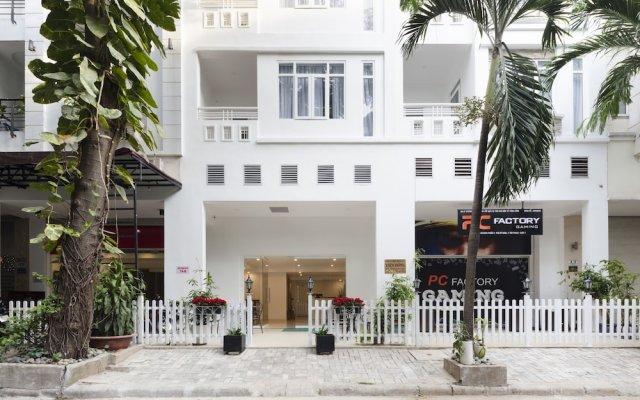 Апартаменты Thao Nguyen Apartment вид на фасад