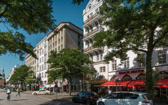 Отель Fürst Bismarck Германия, Гамбург - 4 отзыва об отеле, цены и фото номеров - забронировать отель Fürst Bismarck онлайн вид на фасад