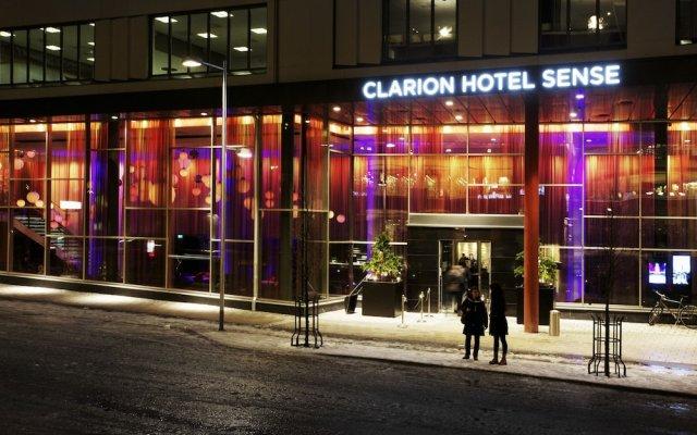 Отель Clarion Hotel Sense Швеция, Лулео - отзывы, цены и фото номеров - забронировать отель Clarion Hotel Sense онлайн вид на фасад