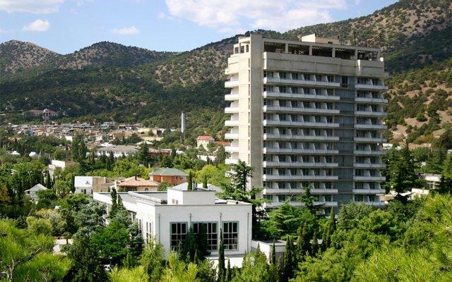 Гостиница ГК Новый Свет вид на фасад