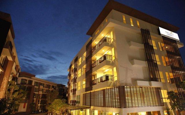 Отель Kris Residence Патонг вид на фасад