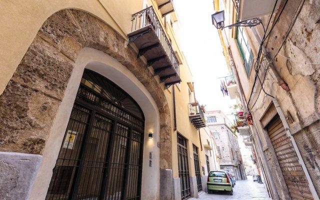 Отель Appartamento Ai Quattro Canti Италия, Палермо - отзывы, цены и фото номеров - забронировать отель Appartamento Ai Quattro Canti онлайн вид на фасад