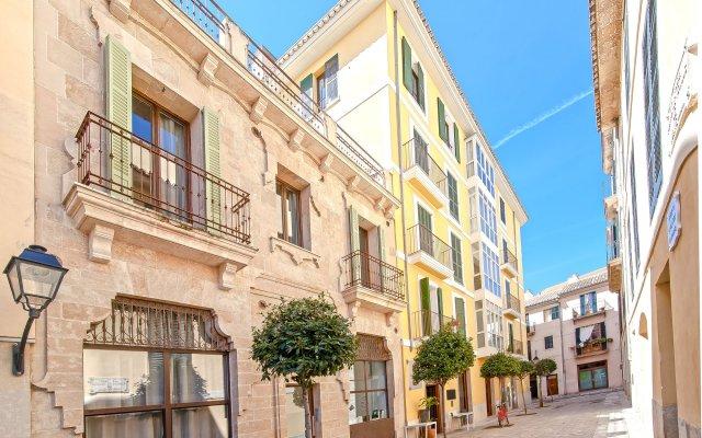 Отель Can Blau Homes Испания, Пальма-де-Майорка - отзывы, цены и фото номеров - забронировать отель Can Blau Homes онлайн вид на фасад