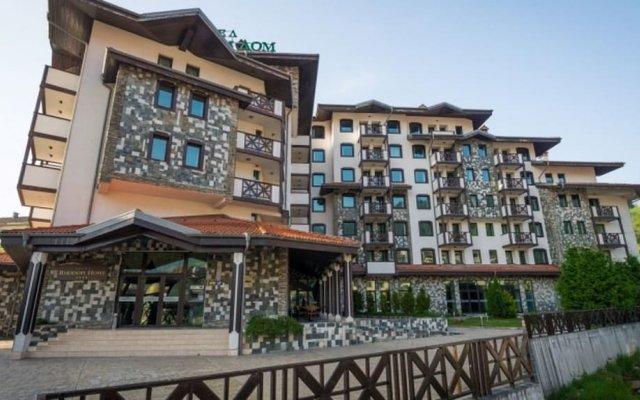 Отель Родопи Отель Болгария, Чепеларе - отзывы, цены и фото номеров - забронировать отель Родопи Отель онлайн вид на фасад