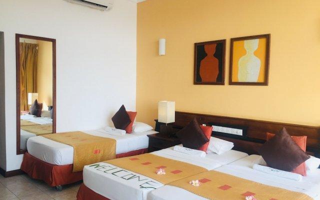 Отель Induruwa Beach Resort Шри-Ланка, Бентота - отзывы, цены и фото номеров - забронировать отель Induruwa Beach Resort онлайн комната для гостей