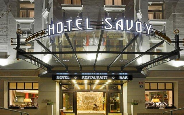 Отель Savoy вид на фасад