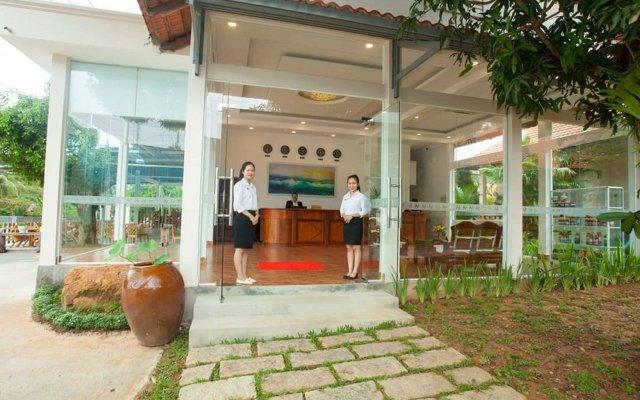 Отель Homestead Phu Quoc Resort вид на фасад