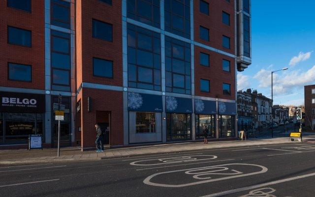 Отель Modern mews home in Kings Cross вид на фасад