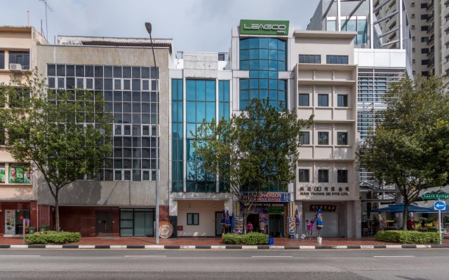 Отель Bunc @ Radius Clarke Quay вид на фасад